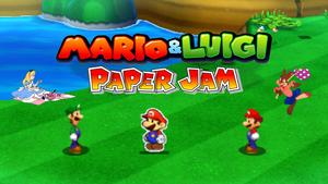 2016-09-Mario Luigi Paper Jam