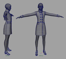 Stylized Character Wires 01 by screenlicker