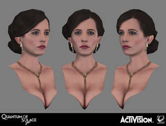 007 Quantum of Solace - Vesper Bust by screenlicker