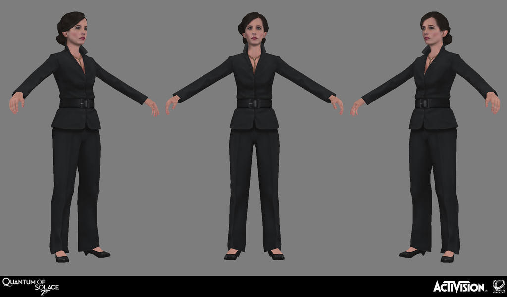 007 Quantum of Solace - Vesper Bust by screenlicker on DeviantArt
