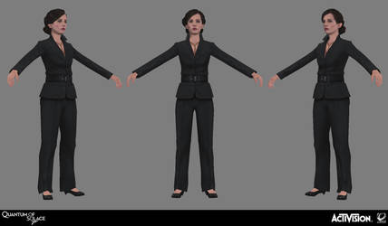 007 Quantum of Solace - Vesper Suit by screenlicker