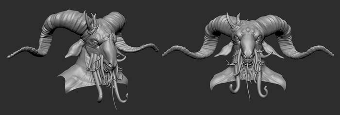 Nightmare Wip 04a by screenlicker