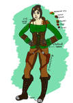 Ismae Outfit Design