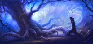 magical jungle by no1hellangle