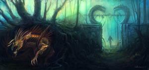 dragon lair 01 by no1hellangle