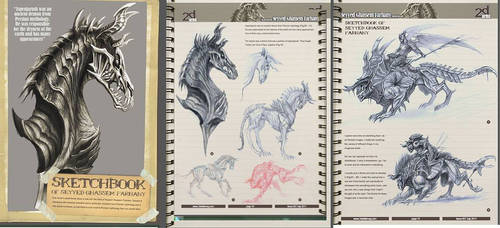 2d mag sketch book