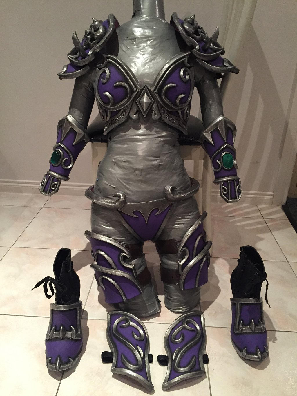 how to create cosplay armor