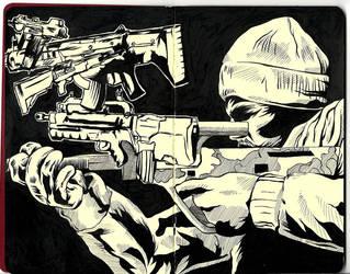 Black Ops by shanedraws
