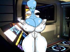 Megamind Girl by grumpygrimone
