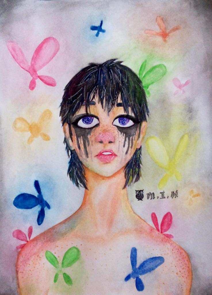 Melting Eyes by Monii-chin