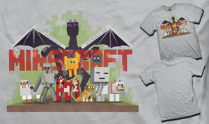 Unsung Heroes of Minecraft T-Shirt Submission