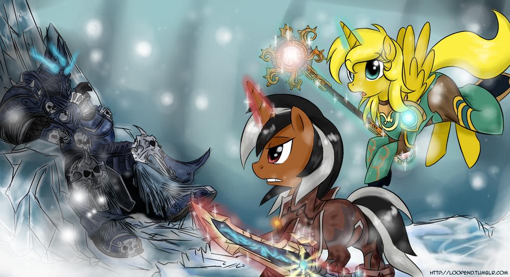Lich King Pony HD Wallpaper Free - Download Lich King Pony HD ...