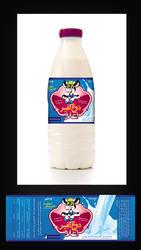 Ala Abarkouh kefir yogurt labe by tuchak