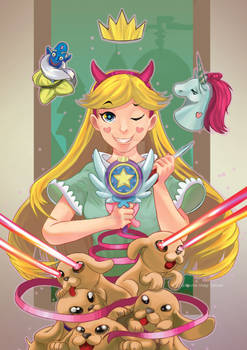 Star Vs the force of Evil , Star Butterfly