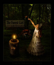 The Forest Girl by DesiGnerMR