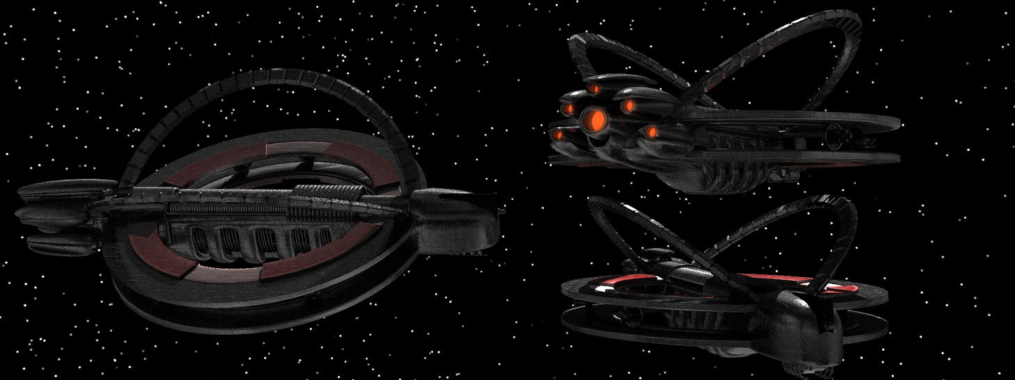 Mlee Farscape Farscape background ships [closer look #5] by todayv4