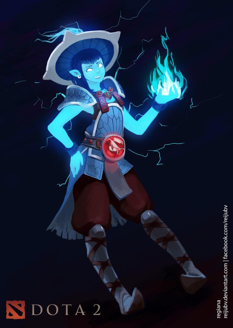 Dota 2 Storm Spirit By Reijubv