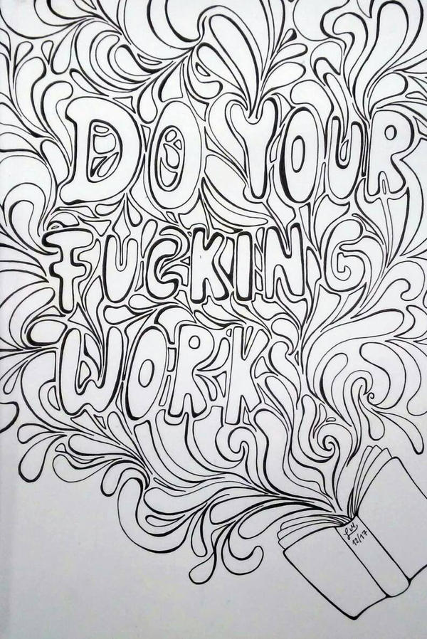 Can my job be making coloring books please? by Aspiring-Awesomeness ...