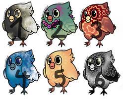 6/6 OPEN ota Birdie Adopts
