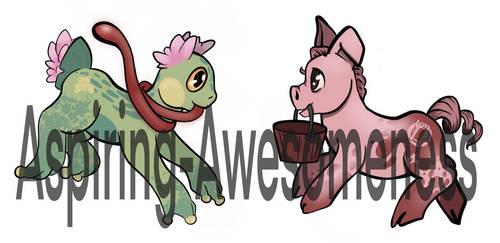 OTA Adopts: Non-Pony Ponies 2/2 OPEN