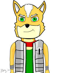 Fox McCloud by hoogiman