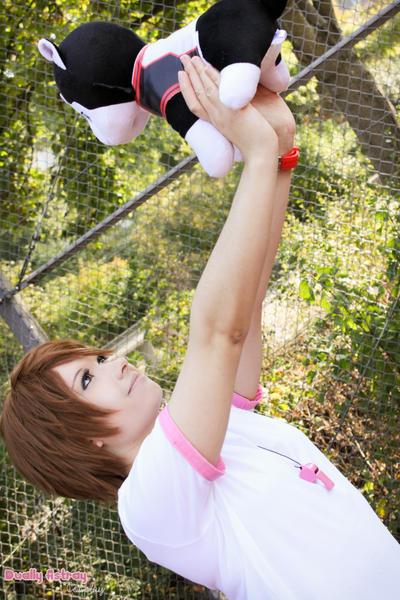 Kuroko no basuke - Riko and Nigou by yummy--chan