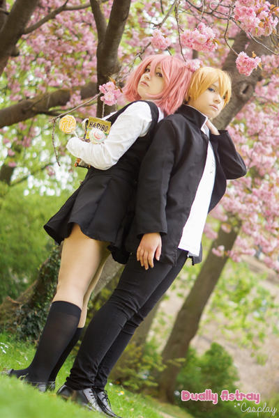 Inu x Boku - Karuta and Watanuki by yummy--chan
