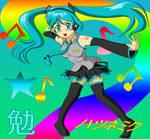 Hatsune Miku -by Tsutomu-