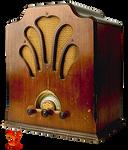 Old Radio by PhoenixRisingStock