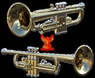 Trumpet by PhoenixRisingStock