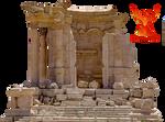 Old Ruins 3 by PhoenixRisingStock