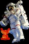 Astronaut 2 by PhoenixRisingStock