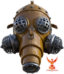 Gas Mask by PhoenixRisingStock