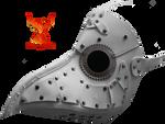 Plague Mask 2 by PhoenixRisingStock