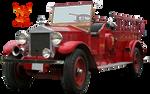 Vintage Fire Truck by PhoenixRisingStock