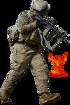 Combat Soldier by PhoenixRisingStock