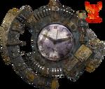Steampunk Clock by PhoenixRisingStock