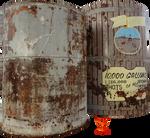 Moonshine Storage Drums by PhoenixRisingStock