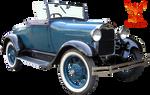 Vintage Antique Car 3 by PhoenixRisingStock