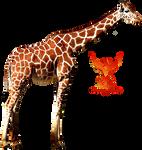 Giraffe by PhoenixRisingStock