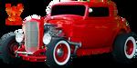 Red Hot Rod by PhoenixRisingStock
