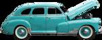 Vintage Classic Baby Blue by PhoenixRisingStock
