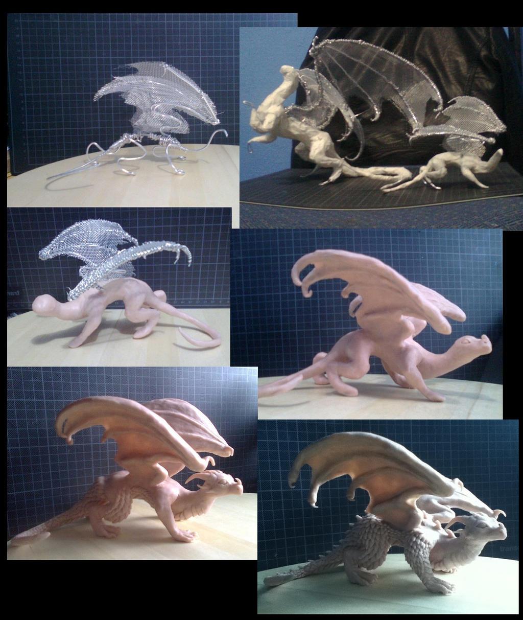 Dragonling WIP by xiShadowWolfx