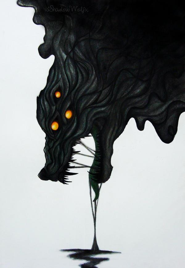 Dread Wolf By XiShadowWolfx