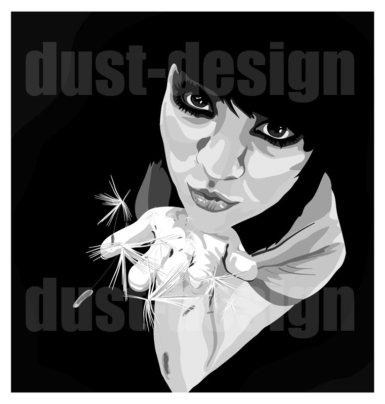 Anemochory by dust-design