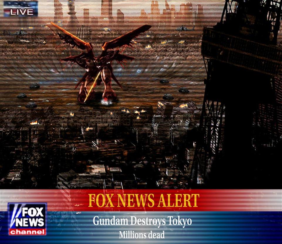 Gundam Destruction by SaiyanSonic
