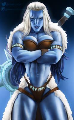 Half Frost Giantess, Jackel