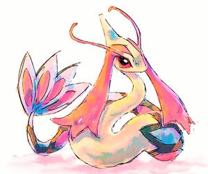 Milotic by hushcoil