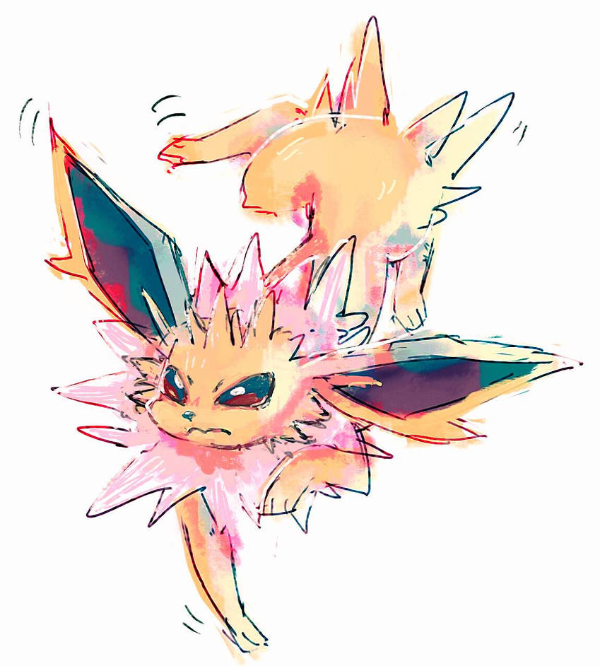 Jolteon by hushcoil