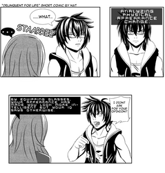 Delinquent for life - Freedom Wars short comic